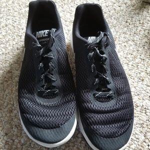 Black Nikes, Size 9